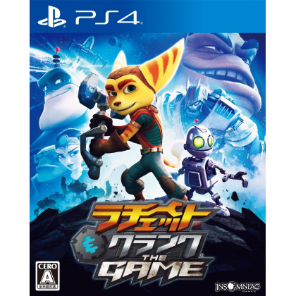 Ratchet & Clank The Game S.E. SONY PS4 PLAYSTATION 4 JAPANESE