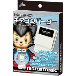RETRO FREAK GAME GEAR CONVERTER SEGA MARK III SG-1000 My Card Master System NEW