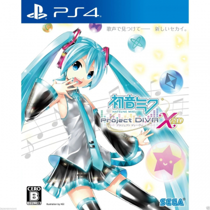 Hatsune Miku Project DIVA X HD SONY PS4 PLAYSTATION 4 JAPANESE