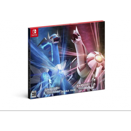 NINTENDO - Pocket Monster - Pokemon Brilliant Diamond & Shining Pearl Double Pack for Nintendo Switch