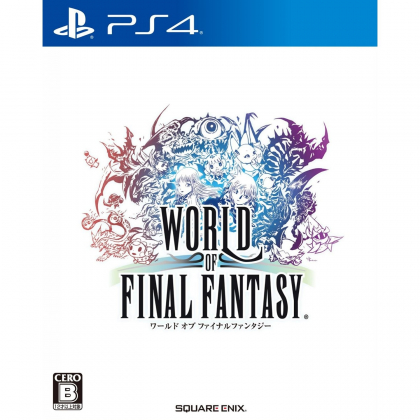 World of Final Fantasy SONY PS4