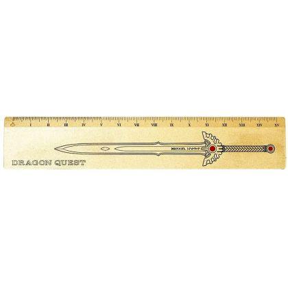 SQUARE ENIX Dragon Quest Metal Ruler 15cm Roto Sword 35th Anniversary