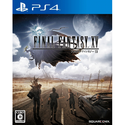 SQUARE ENIX FINAL FANTASY XV SONY PLAYSTATION 4 PS4 JAPANESE IMPORT