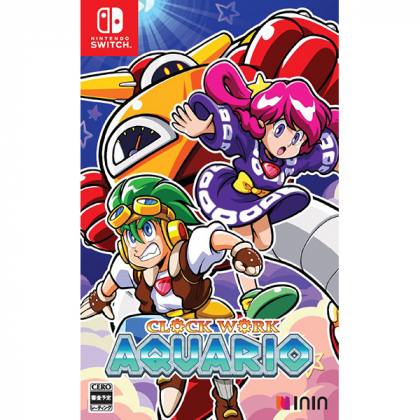ININ Games - Tokeijikake no Aquario - Clockwork Aquario for Nintendo Switch