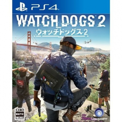 UBISOFT Watch Dogs 2 SONY PS4 PLAYSTATION 4
