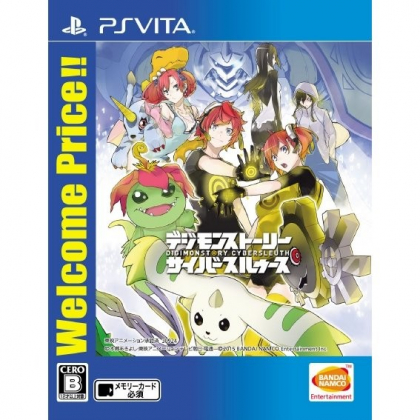 Digimon Story Cyber Sleuth (Welcome Price!!) SONY PS VITA PLAYSTATION