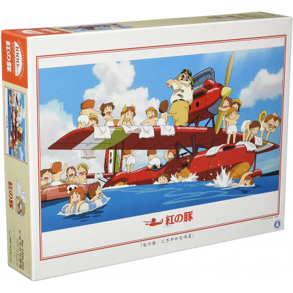ENSKY - GHIBLI Porco Rosso - 1000 Piece Jigsaw Puzzle 1000-256