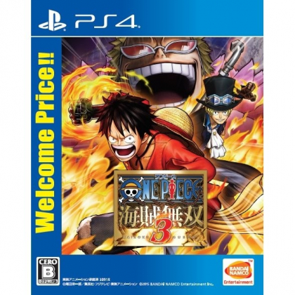 One Piece: Kaizoku Musou 3 (Welcome Price!!) SONY PS4 PLAYSTATION