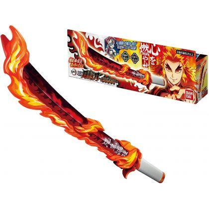 BANDAI Kimetsu no Yaiba (Demon Slayer) DX Rengoku Kyojuro Nichirin Sword