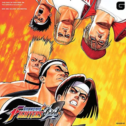 CD GAME - The King of Fighters 94 Complete original soundtrack