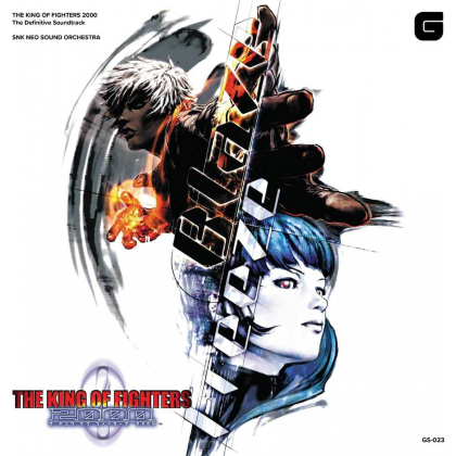 CD GAME - The King of Fighters 2000 Complete original soundtrack