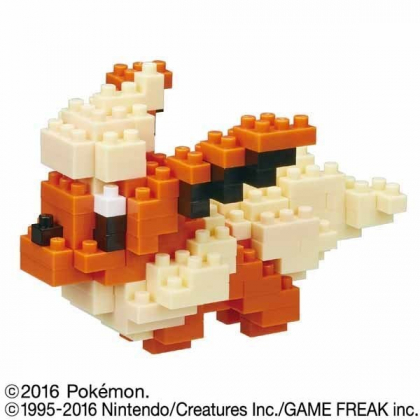 Nanoblock NBPM-022 Pokemon: Flareon