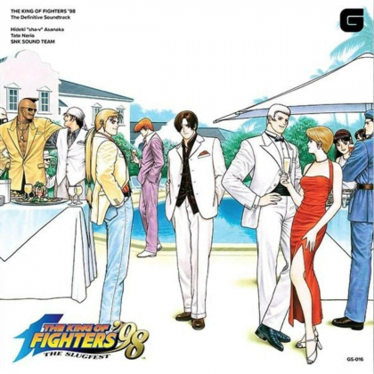 CD GAME - The King of Fighters 98 THE DEFINITIVE SOUNDTRACK