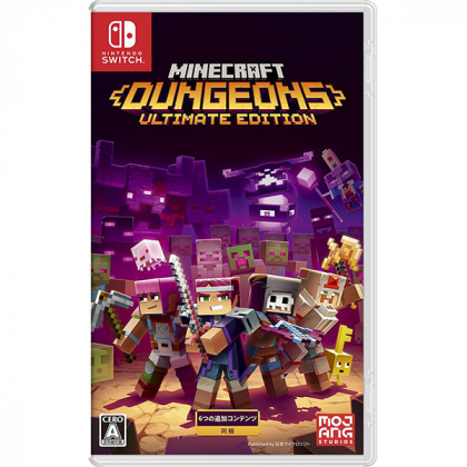 Microsoft - Minecraft Dungeons Ultimate Edition for Nintendo Switch