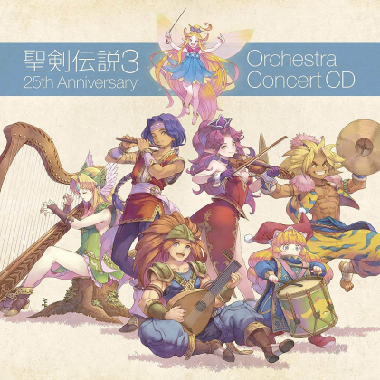 CD Game - Trials of Mana 25th Anniversary ORCHESTRA CONCERT CD