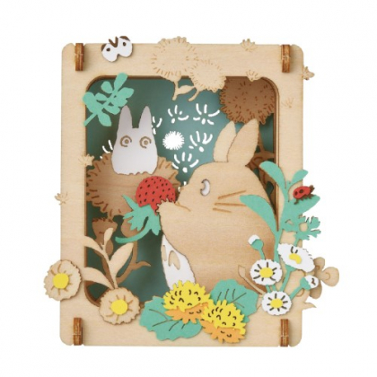 ENSKY - GHIBLI My neighbor Totoro Paper Theater Wood Style PT-W16