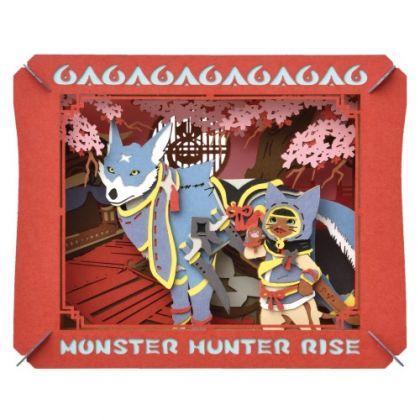 ENSKY - Monster Hunter Rise Paper Theater: Otomo Airou & Otomo Garuku PT-238