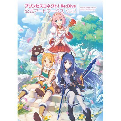 Artbook - Princess Connect! Re:Dive Official Artworks vol.2