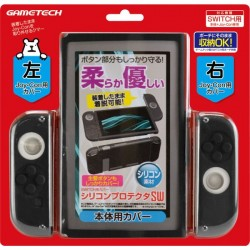 GAMETECH Protection en silicone noir NINTENDO SWITCH