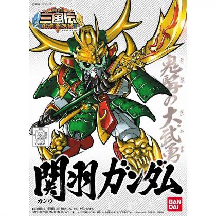 BANDAI SD GUNDAM BB FIGHTER SANGOKUDEN FUUNGOUKETSU - Super deformed GUAN YU GUNDAM Model Kit Figure(Gunpla)