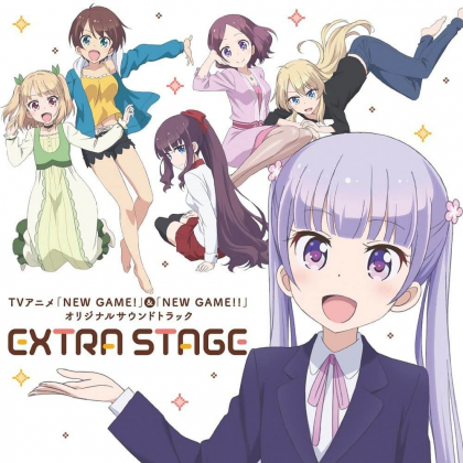 CD Anime - NEW GAME! Original soundtrack EXTRA STAGE