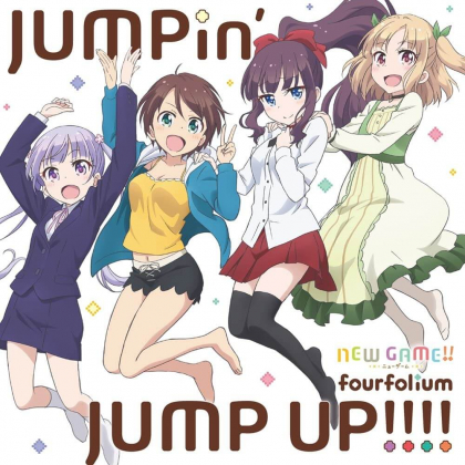"""CD Anime - NEW GAME! """"JUMPin' JUMP UP!!!!"""""""