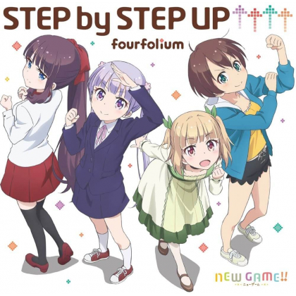 """CD Anime - NEW GAME! """"STEP by STEP UP↑↑↑↑"""""""