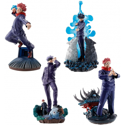 MEGAHOUSE Jujutsu Kaisen - Puchirama Series 4 Figures BOX