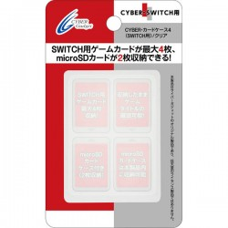 CYBER GADGET Boîte de rangement 4 jeux et 2 MicroSD NINTENDO SWITCH