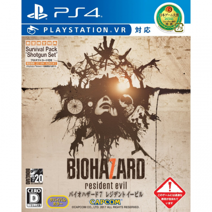 CAPCOM Biohazard 7 Resident Evil PLAYSTATION VR SONY PS4