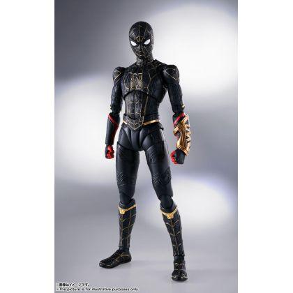 BANDAI S.H.Figuarts Spider-Man: No Way Home - Spider-Man Black & Gold Suit Figure