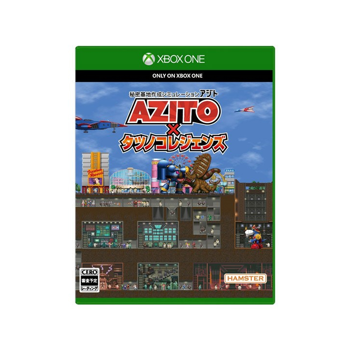 AZITO × Tatsunoko Legends  XBOX ONE