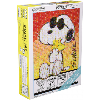 BEVERLY - SNOOPY : Snoopy & Woodstock - Jigsaw Puzzle 600 pièces 66-147