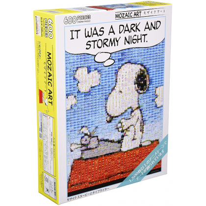 BEVERLY - PEANUTS: Snoopy and his typewriter - 600 Piece Jigsaw Puzzle 66-146