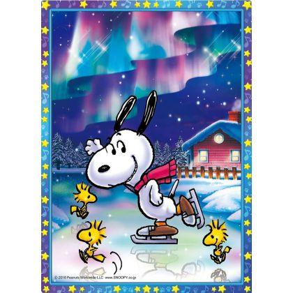 BEVERLY - SNOOPY : Sous les aurores boréales - Jigsaw Puzzle Cristal 165 pièces CJP-045