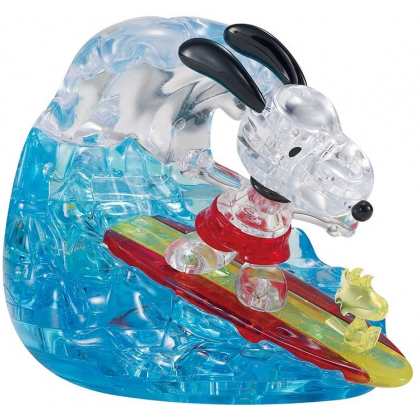 BEVERLY - SNOOPY Surfing - 40 Piece Jigsaw Puzzle Cristal 50258