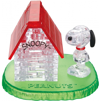 BEVERLY - SNOOPY Snoopy's House - 51 Piece Jigsaw Puzzle Crystal 50154