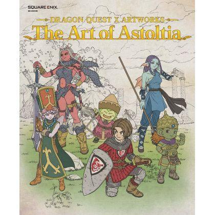 Artbook - Dragon Quest X Artworks - The Art of Astoltia