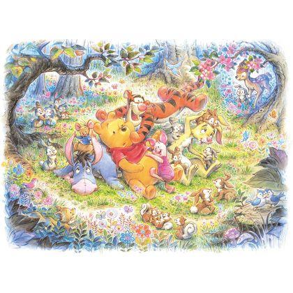 TENYO - DISNEY Winnie l'Ourson - Jigsaw Puzzle 500 pièces D-500-421