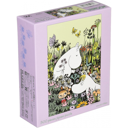 YANOMAN - MOOMIN Flowers field - 300 Piece Jigsaw Puzzle 03-874