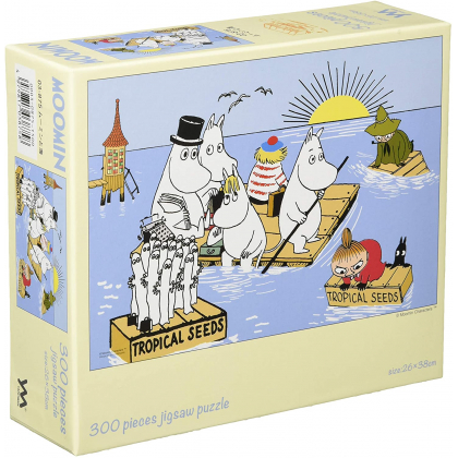 YANOMAN - MOOMIN The Sea - 300 Piece Jigsaw Puzzle 03-875