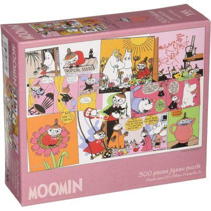 YANOMAN - MOOMIN Little My's Pranks - 300 Piece Jigsaw Puzzle 03-877