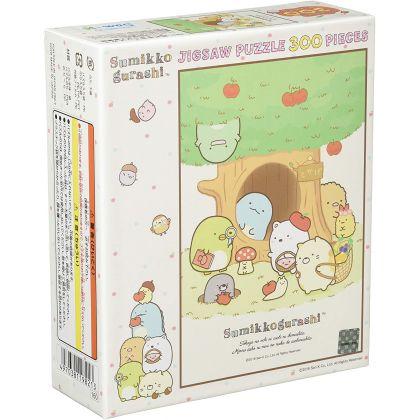 ENSKY - SUMIKKO GURASHI: Playing at Tokage's House - 300 Piece Jigsaw Puzzle 300-1328