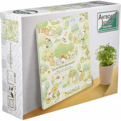 ENSKY - SUMIKKO GURASHI : S'Amuser chez Tokage - Jigsaw Puzzle Artboard 366 pièces ATB-11