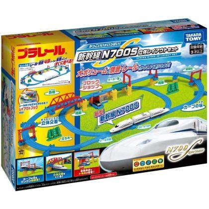 TAKARA TOMY - Plarail Shinkansen N700S 3D Rail Set