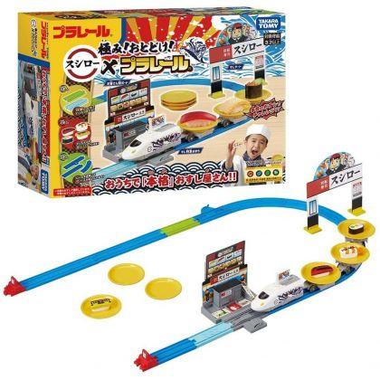 TAKARA TOMY - Plarail Railway With Sushi Set