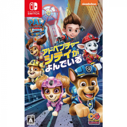 OUTRIGHT GAMES - PAW Patrol The Movie: Adventure City Calls for Nintendo Switch