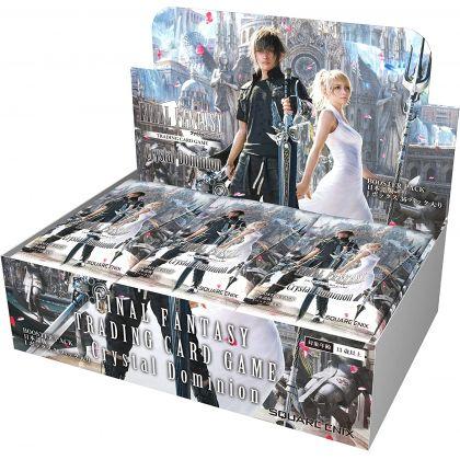 HOBBY JAPAN - Final Fantasy VII Remake Trading Card - Booster Pack Crystal Dominion BOX