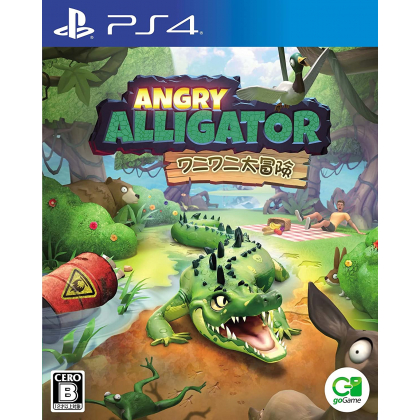 goGame - Angry Alligator for Sony Playstation PS4