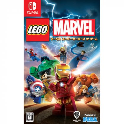 Warner Home - LEGO Marvel Super Heroes The Game for Nintendo Switch